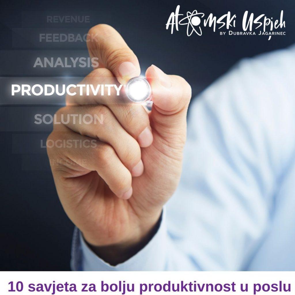 10 savjeta za bolju produktivnost u poslu
